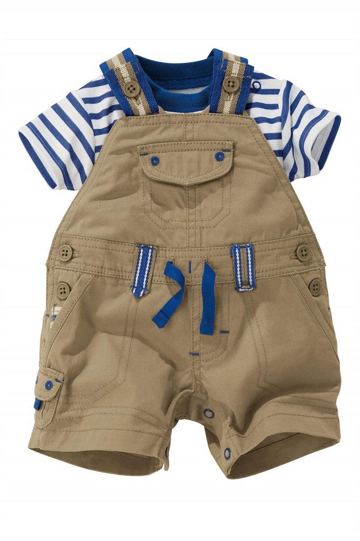 Newborn Pants - Baby Pants and Infantwear - Next Neutral Dungarees - EziBuy Australia
