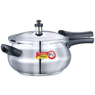Buy #Prestige Pressure Cooker Deluxe Alpha Junior Handi 4.4 Ltr Online in Kerala, Kochi, India. #luluwebstore.in