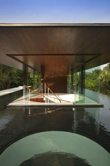Amazing water cooled house by singapore architects wallflower
