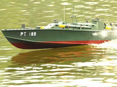 NEW RTR RC RADIO CONTROL PT 109 BOAT SHIP - 26CC GAS POWERED - WATCH THE VIDEO!   eBay