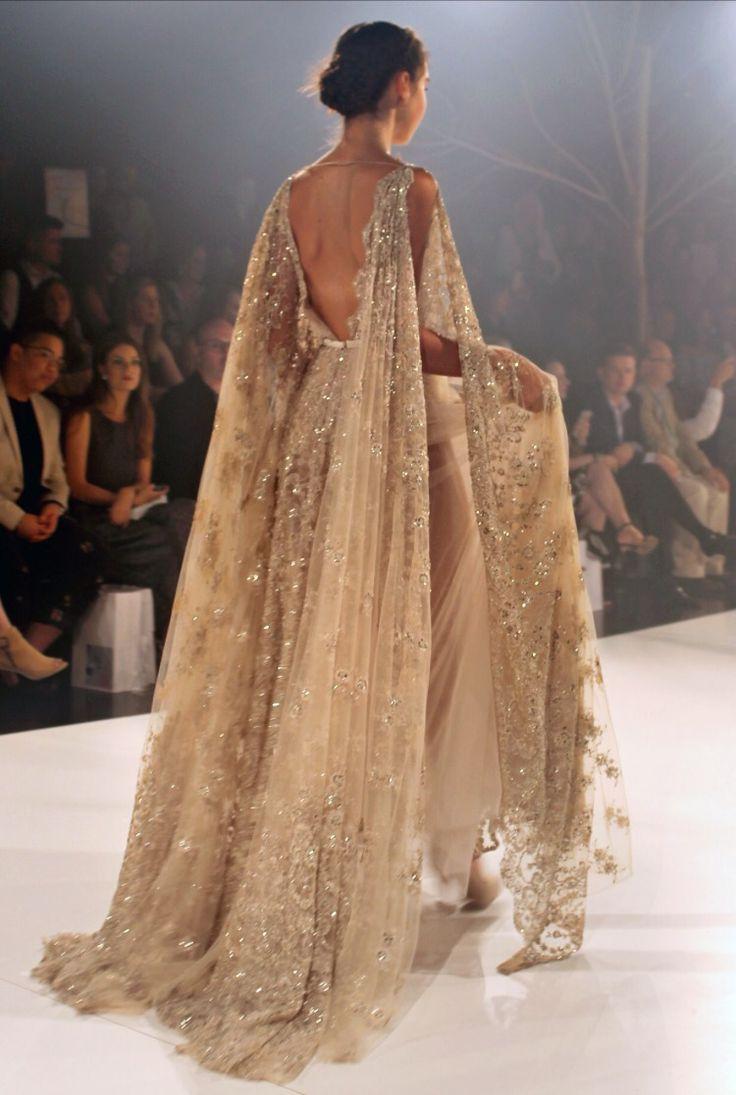 Vestido de Paolo Sebastian A/W Couture