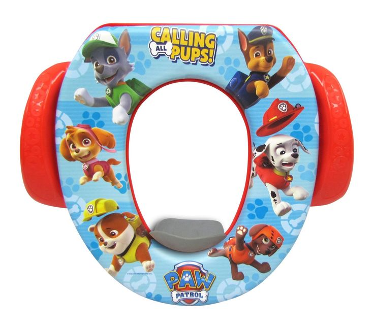 Kids Potty Pee Training Soft Seat Calling All Pups Child Toddler Toilet Chair