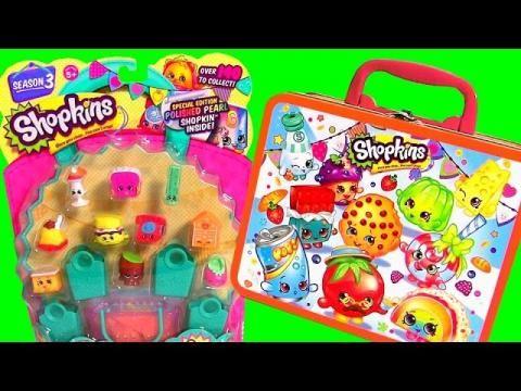 SHOPKINS Baskets Season 2 NEW Toys 2015 Unboxing Review Bolsitas ...