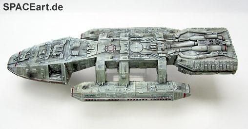 Battlestar Galactica: Galactica Display Model, Fertig-Modell, http://spaceart.de/produkte/bg008.php
