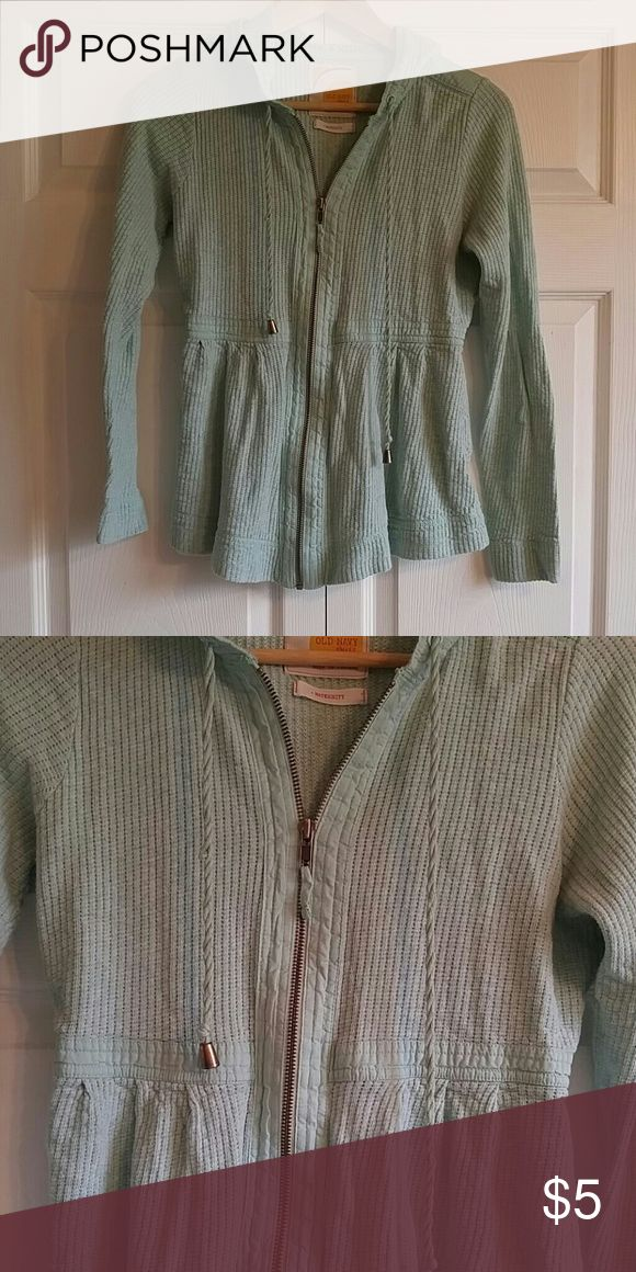 Maternity Zip Up Zip up jacket. Light green. Old Navy Jackets & Coats