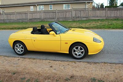 1997 Fiat Barchetta Convertible 55k kms two for one (parts car)