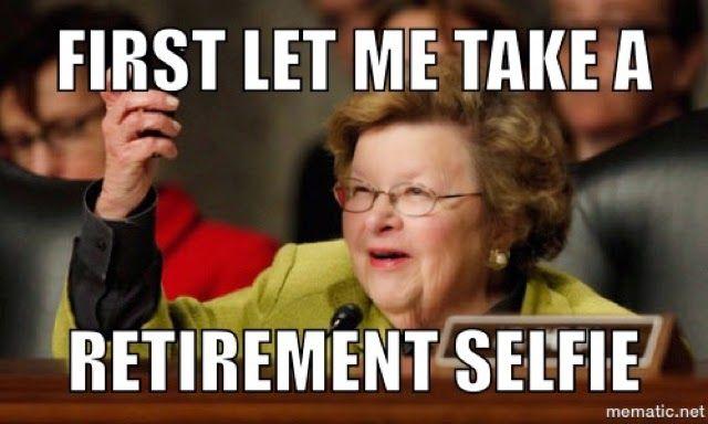 Funny Memes For Retirement : Barbara mikulski announces retirement baltimore memes