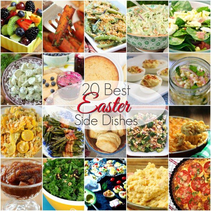 20 BEST Easter Side Dishes Easter side dishes, Easter