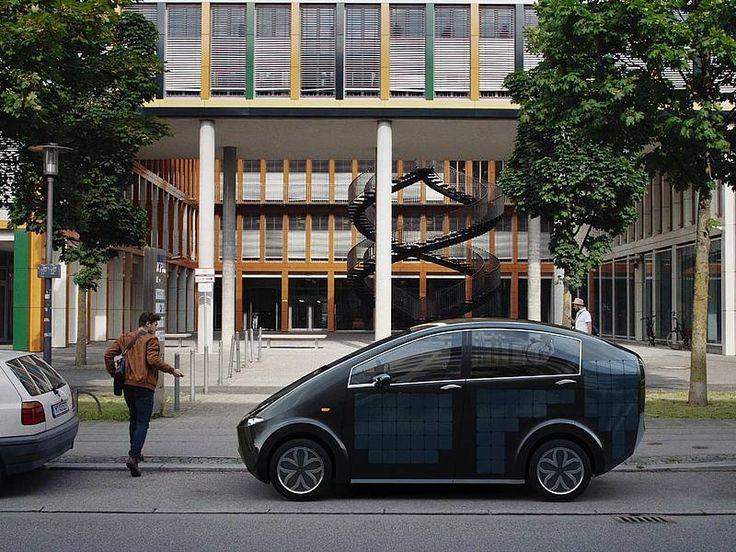#Sion, la prima auto solare di serie al mondo @greenpinkorg