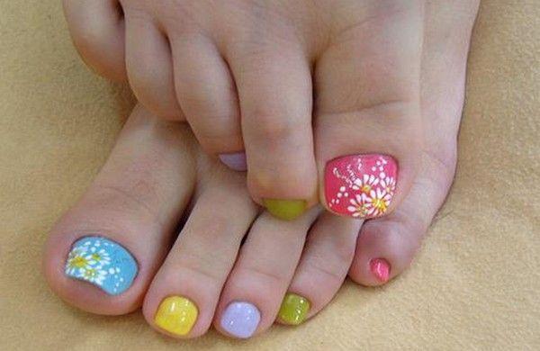 32 Best Toe Nail Art Images On Pinterest Nail Scissors