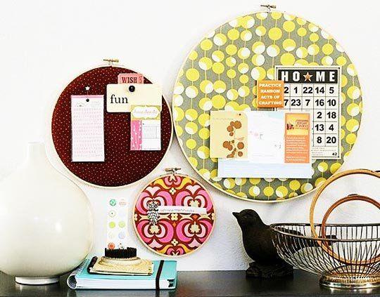 Inspiration: Embroidery Hoop Wall Art Photos! — Austin