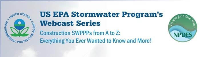Construction SWPPP's from A-Z | Stormwater Pollution Prevention | EPA