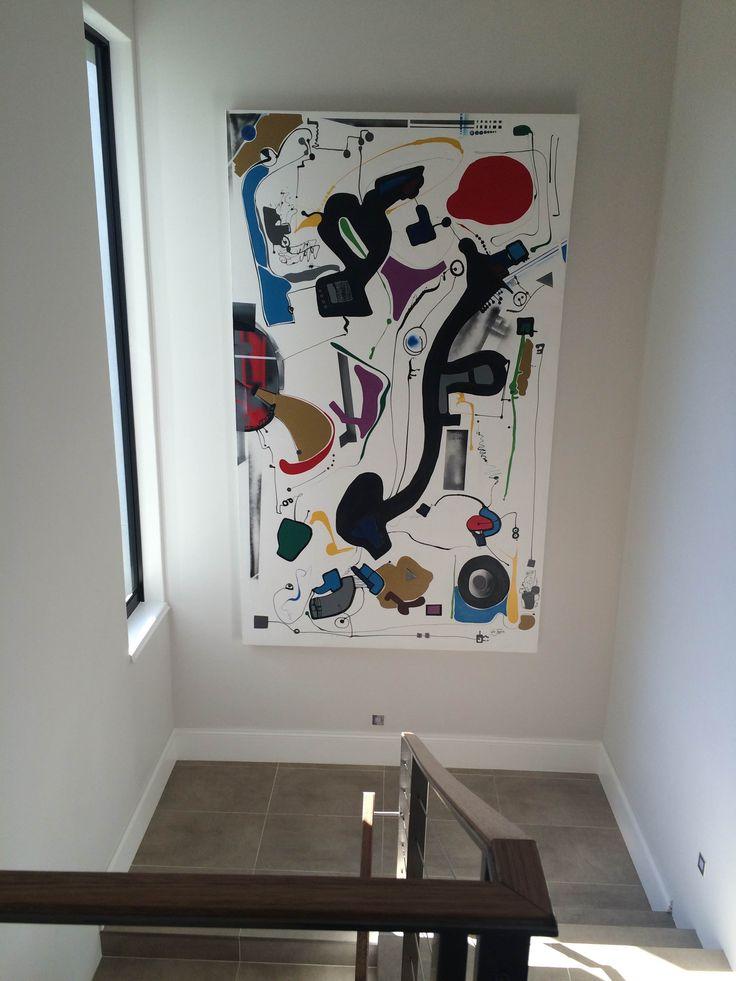 Abstract on canvas www.glenjosseloshn.com Glen Josselsohn Contemporary Art