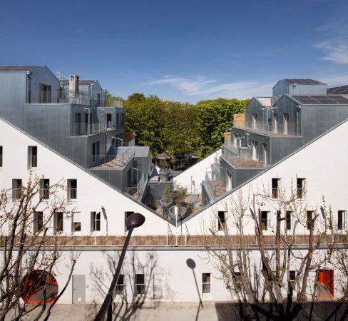 'M' BUILDING, 20 LOGEMENTS A PARIS - STEPHANE MAUPIN ARCHITECTURE + DESIGN