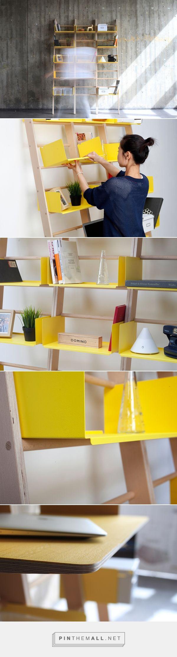 The Mini Modular Library | Yanko Design - created via http://pinthemall.net