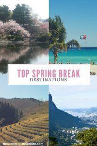 Top Spring Break Destinations