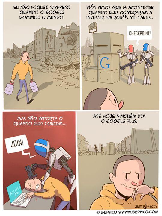 Google e a dominação mundial.