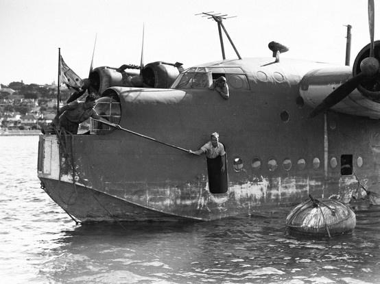 Short Sunderland Royal Australian Air Force