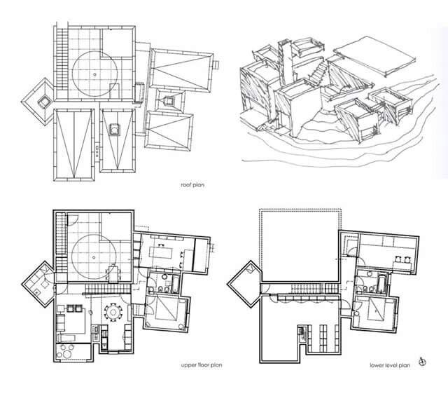 Casa na Arrabida, ESM, plans