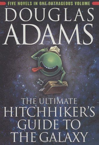 The Ultimate Hitchhiker's Guide to the Galaxy by Douglas Adams,http://www.amazon.com/dp/0345453743/ref=cm_sw_r_pi_dp_oQs.sb0DYXP24N40
