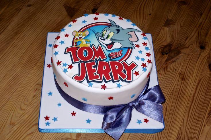 Tom And Jerry » Sweetcheeks Bakehouse cakepins.com