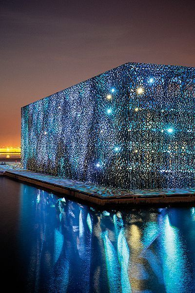15 Must-See Buildings With Unique Perforated Architectural Façades (Skins)_ 1 MuCEM, Marseille France 3