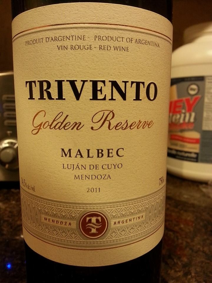 Trivento Golden Reserve Malbec $20 MLCC