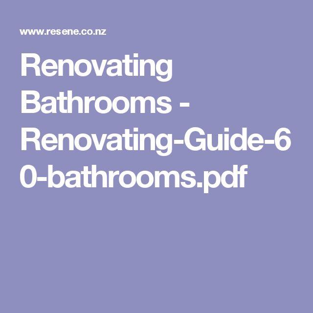Renovating Bathrooms - Renovating-Guide-60-bathrooms.pdf