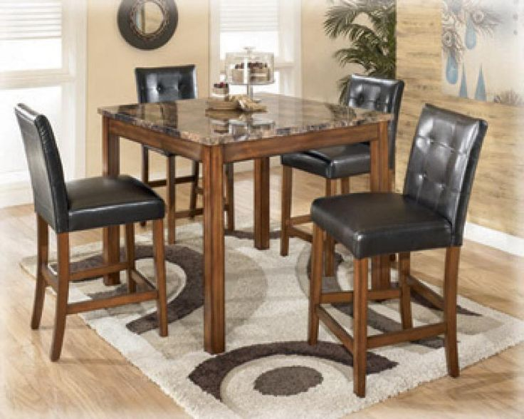 Shop For Signature Design By Ashley Square Counter TBL Set And Other Dining  Room Sets At Crown Furniture U0026 Electronics In Oranjestad, Aruba.