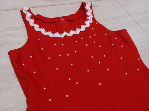 Como customizar vestido vermelho – 4 ideias