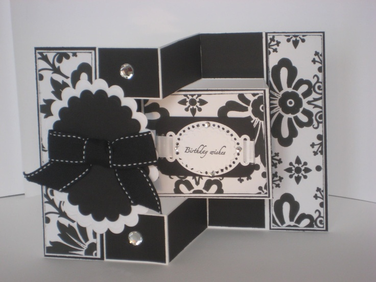 362 best Tri shutter cards images on Pinterest Folded cards, Tri - tri fold card