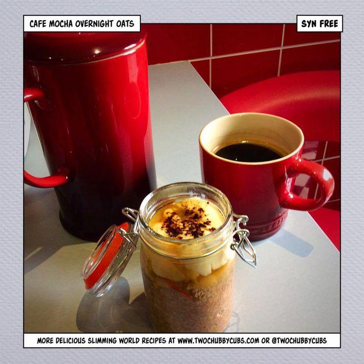 cafe mocha overnight oats