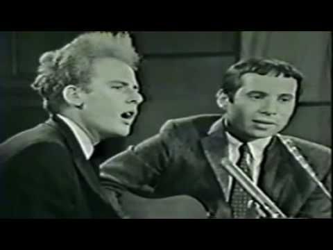 Simon & Garfunkel - The Sound of Silence 1966 live  ...Hello darkness, my old friend  I've come to talk with you again....
