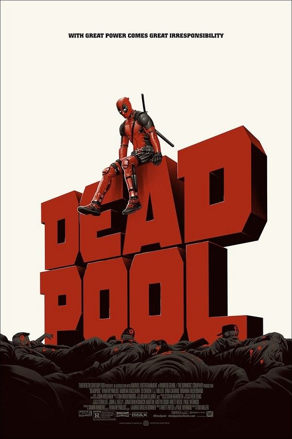 deadpool movie poster rob liefeld - Pesquisa Google