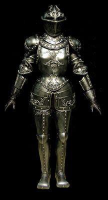 Full Suit of Gothic Armor for Women.