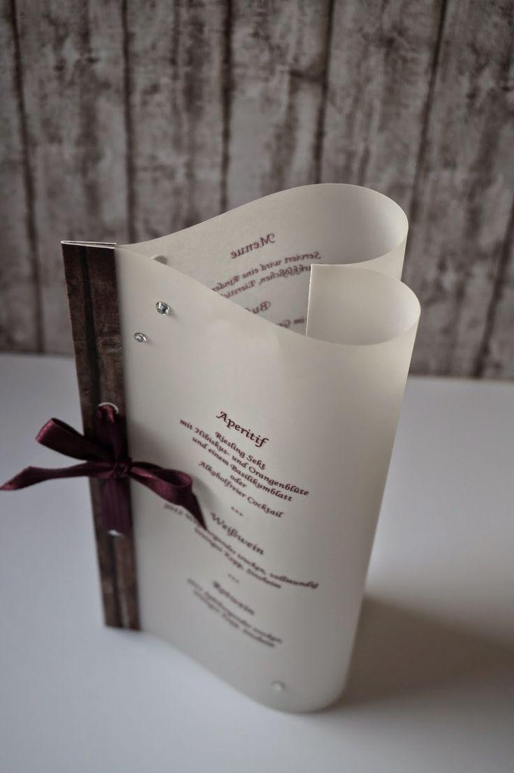 menu card, Villa Kreativa
