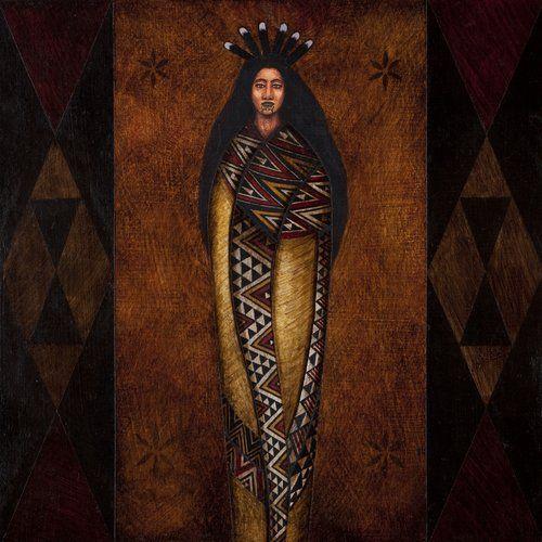 The Body of Matariki by Victor Lee Te Paa, Māori artist (KX101104)