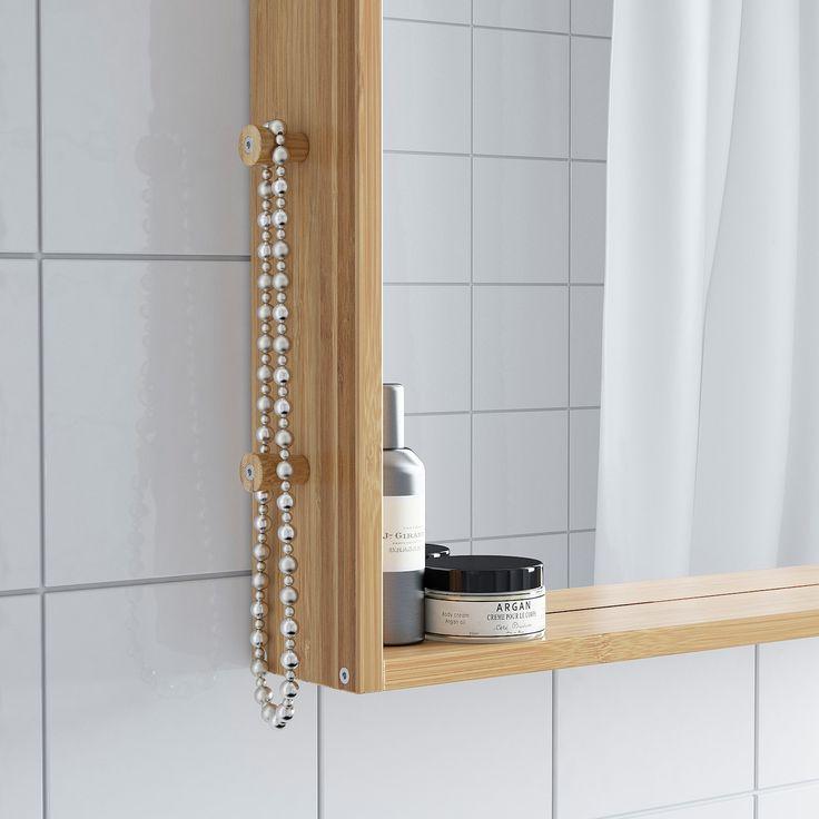 Ragrund Spiegel Bambus In 2020 Ikea Ragrund Ikea Und Badezimmer
