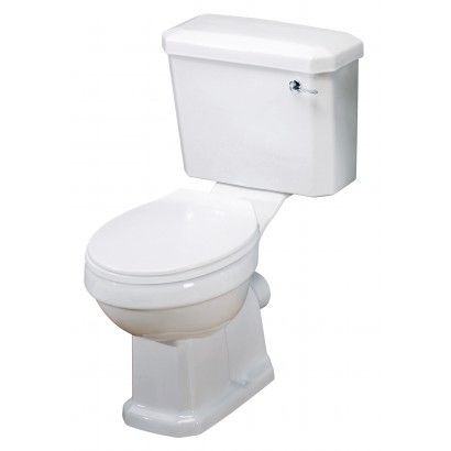 Pure Bathrooms Sheridan Traditional Toilet & Seat. Traditional design classic. A million miles away from contemporary or modern, with a range of basin sizes to fit most bathrooms large or small. www.dealsonbathrooms.co.uk
