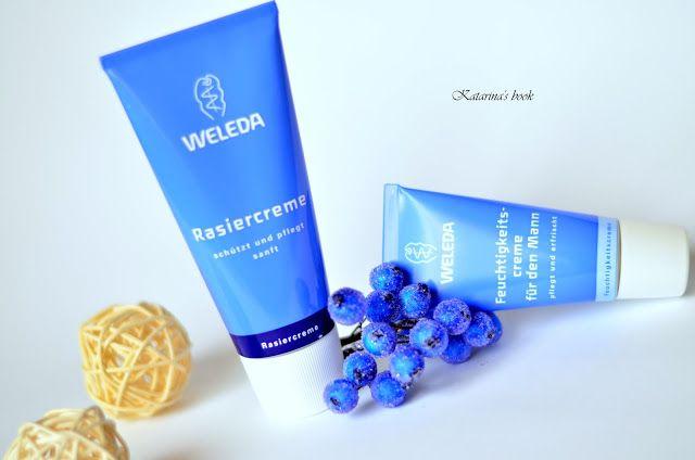 ©Katarina's book: Weleda крем для бритья и увлажняющий крем для мужчин