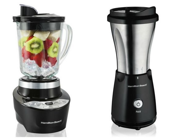 Amazing Giveaway: Hamilton Beach Smoothie Smart Blender & Single Serve Blender with Travel Lid. Enter today for a chance to win. Pin it for 3-extra entries.