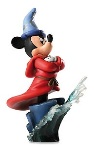 Fantasia - Sorcerer Mickey - Bust - Walt Disney Mini Busts - World-Wide-Art.com - $65.00 #Disney #MickeyMouse