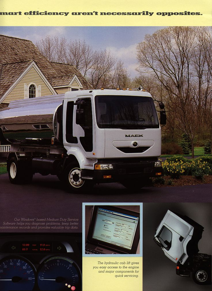 https://flic.kr/p/Gp4fka | Mack Freedom - Taking productivity and technology the extra mile. 2002_4 | truck brochure | by worldtravellib World Travel library - The Collection