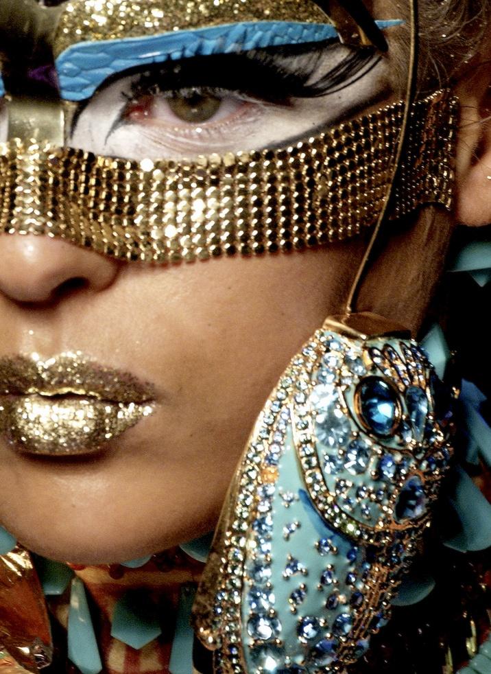 Dior.  @ Lolly. For Halloween! Masquerade theme? :)