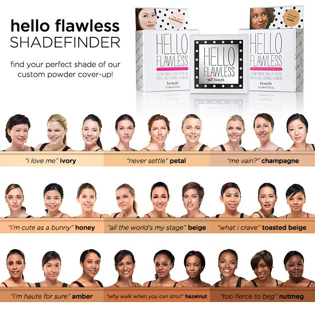 Hello Flawless Powder Foundation by Benefit #4