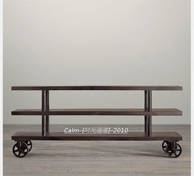 Американский стиль кантри чердак сделать старое железо колесо железа промышленного процесса Ретро-мебель LOFT корпуса телевизора