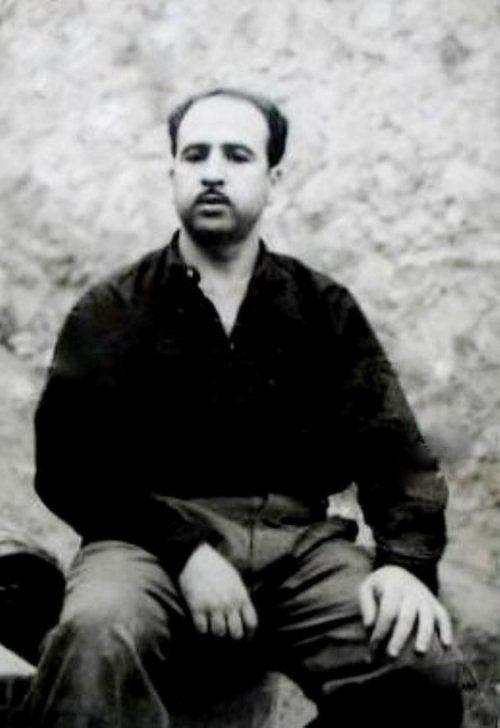 photo rare  de Krim Belkacem, premier chef ALN de la Kabylie, Membre des neuf chefs historiques. Ministre de GPRA.