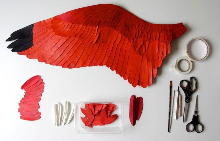 Realistic Bird Paper Sculptures by Diana Beltran Herrera   http://www.yatzer.com/bird-paper-sculptures-diana-beltran-herrera