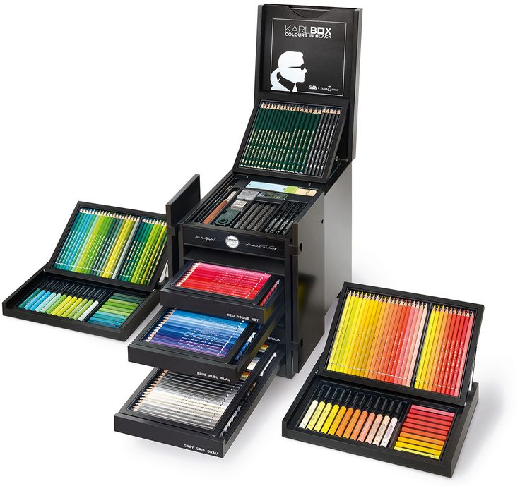 Just in time for back to school, Karl Lagerfeld has partnered with Faber-Castell…