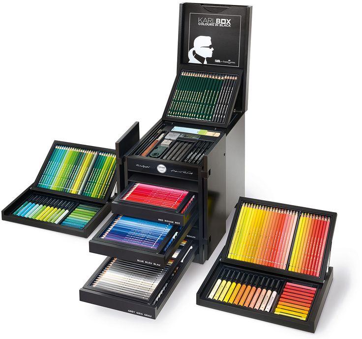 Ich will die haben!!! Offizielle KARLBOX Homepage | Karl Lagerfeld x Faber-Castell